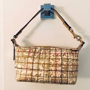 Coach Gold Graffiti Handbag